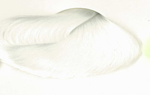 Soft White 208 Premium Nylon Doll Hair