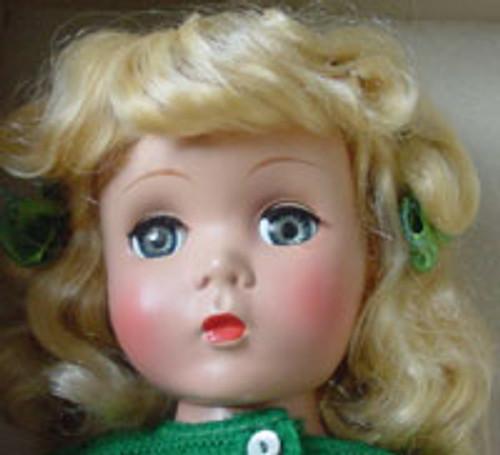 Champagne Blond 9 KatSilk® Saran Doll Hair