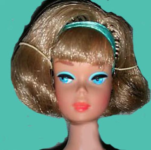 Ash Blond 10 KatSilk ® Saran Doll Hair