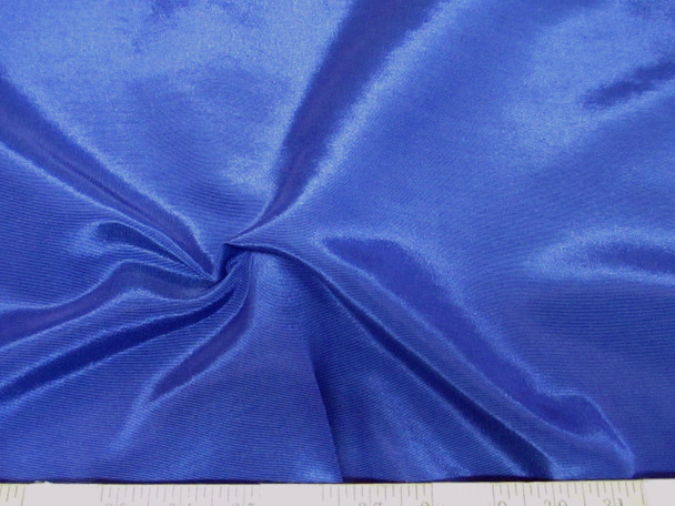 Discount Fabric BENGALINE Faille 72 inches wide Solid Blue Ben206
