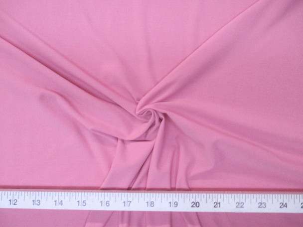 Discount Fabric Light Weight Lycra /Spandex 4 way stretch Blush Pink LY703