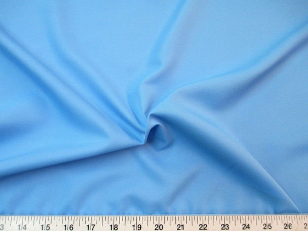 Discount Fabric Challis Apparel Top Weight Sky Blue Soft and Flowing CH22