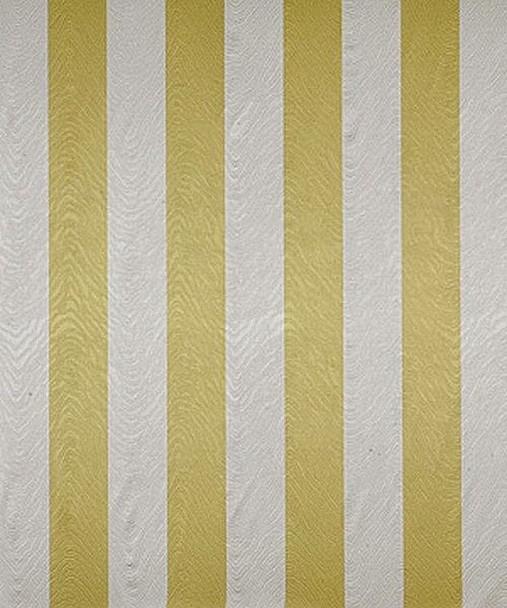 Fabric Robert Allen Beacon Hill Anabel Citrine Silk Stripe Drapery HH15