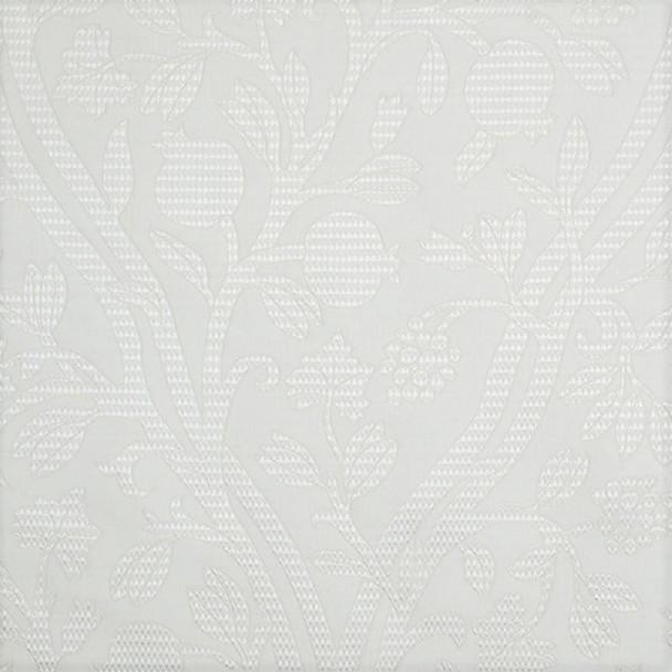 Fabric Robert Allen Beacon Hill Amerikey Snow Silk Matelasse Floral Drapery II41