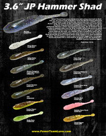 JP Hammer Custom Shad Drop Shot Kit