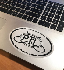 5 x 3 Oval Decal