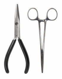 6-Inch Pliers & 5-Inch Forceps Combo