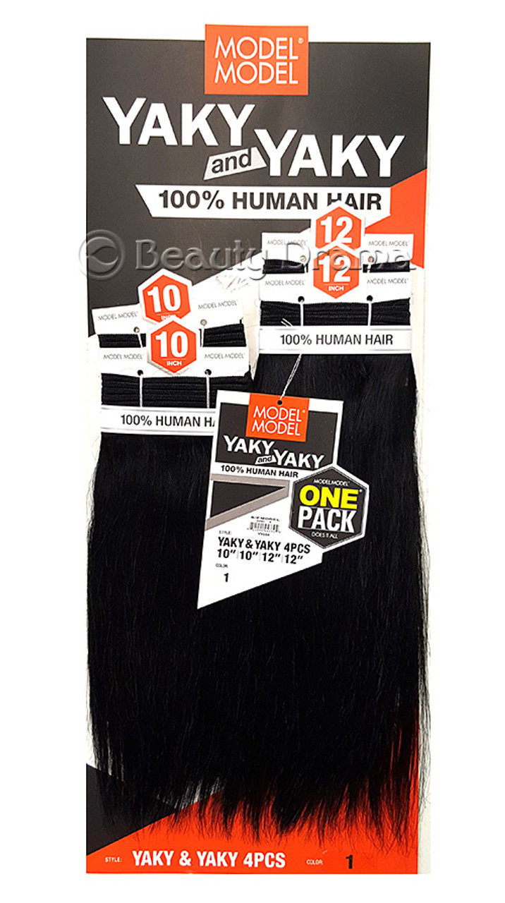 Model Model 100 Human Hair Yaky And Yaky One Pack