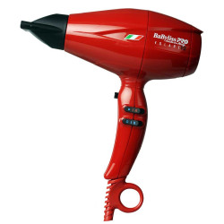 BaByliss PRO Nano Titanium Volare V2 Mid-Size Hair Blow Dryer RED