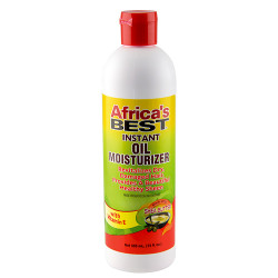 Africa's Best Instant Oil Moisturizer with Shea Butter 12 oz