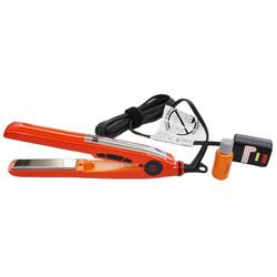"CHI Deep Brilliance 1"" Digital Titanium Hairstyling Flat Iron Orange"