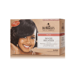 Dr. Miracle's New Growth No-Lye Relaxer 1 Complete Application Super