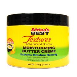 Africa's Best Textures Shea Butter & Coconut Moisturizing Butter Cream 7.5 oz