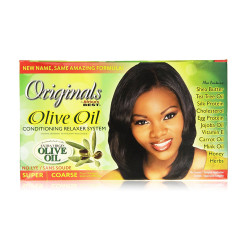 Africa's Best Organics Olive Oil Conditioning Relaxer System System