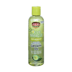 African Pride Olive Miracle Anti-Breakage Growth Oil 8 oz