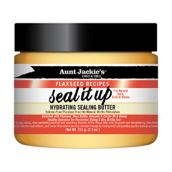 Aunt Jackie's Flaxseed Recipes Hydrating Sealing Butter Seal it Up 7.5 oz