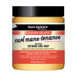 Aunt Jackie's Flaxseed Recipes Defining Curl Whip 15 oz