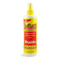 Sulfur 8 Medicated Dandruff Treatment for Braids 12 oz