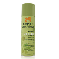 Isoplus Natural Remedy Sheen Olive Oil Conditioning Hair Spray