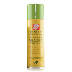 Isoplus Natural Remedy Sheen Tea Tree & Aloe Conditioning Hair Spray