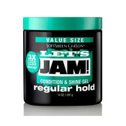 Let's Jam Condition & Shine Gel Regular Hold 14 oz