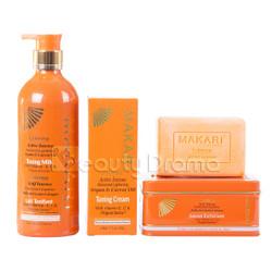 Makari Extreme Argan & Carrot Oil Skin Kit