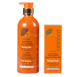 Makari Extreme Argan & Carrot Oil Body Milk & Toning Cream