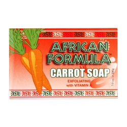 African Formula Carrot Soap Exfoliating with Vitamin A, 7 oz