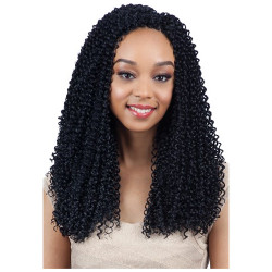 MODEL MODEL 3X Glance Crochet Braid Bohemian Soul Curl 14""