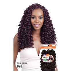 MODEL MODEL 3X Glance Crochet Braid Go Go Curl 14""
