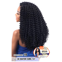 MODEL MODEL 3X Glance Crochet Braid Water Curl 14""