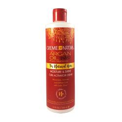 Creme of Nature Argan Oil Moisture & Shine Curl Activator Creme 12 oz