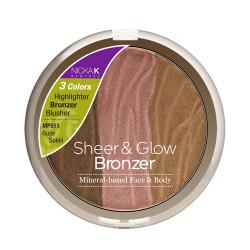 Nicka K Sheer & Glow Bronzer, Mineral-based Face & Body