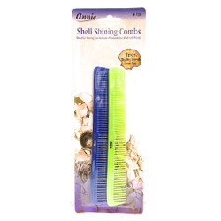 Annie Shell Shining Styling Combs #135, Random Color