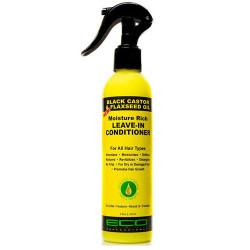 ECO Style Black Castor Oil & Flaxseed Oil Moisture Rich Leave-In Conditioner 8 oz