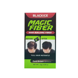 BLACKICE Magic Fiber Hair Building Fiber DARK BROWN
