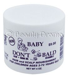 Baby Don't Be Bald Natural Hair & Scalp Nourishment 4 oz
