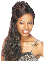 MODEL MODEL Pose 5 FUZZY LONG 5PCS Hair Weave