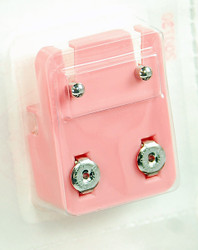 Studex Ear Piercing Stainless Steel Ball MINI Studs 12 pack M200W