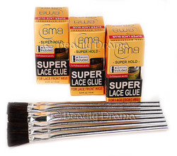 BMB Super Lace Glue Adhesive 3 Combo Set with 7 Free App Brushes