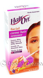 Hair Off Facial Creme Hair Remover Gentle on Sensitive Skin