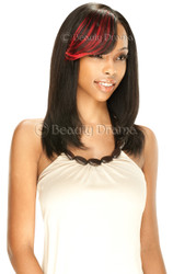 Model Model EGO Remy 100% Human Hair Clip In Bang Piece 7 Inch