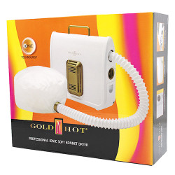 GOLD N HOT Ionic Soft Bonnet Dryer GH3985