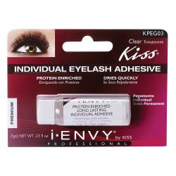Kiss i ENVY Pro Long Lasting Individual Eyelash Adhesive Glue - Clear, KPEG03