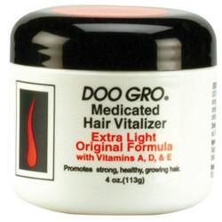 DOO GRO Extra Light Original Formula Medicated Hair Vitalizer 4 oz