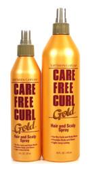 Softsheen Carson Care Free Curl Gold Hair Scalp Spray