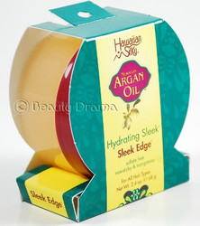 Hawaiian Silky Moroccan Argan Oil Hydrating Sleek Edge Gel 2.4 oz