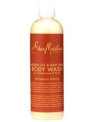 Shea Moisture Argan Oil & Raw Shea Butter Body Wash 13 oz