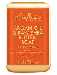 Shea Moisture Argan Oil & Raw Shea Butter Soap 8 oz