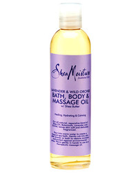 Shea Moisture Lavender & Wild Orchid Bath, Body & Massage Oil w/ Shea Butter 8 oz